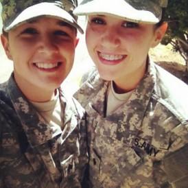 Amanda Ortiz and Rachel Murphy
