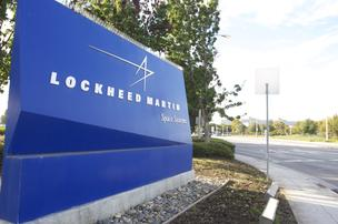 Lockheed Martin sign