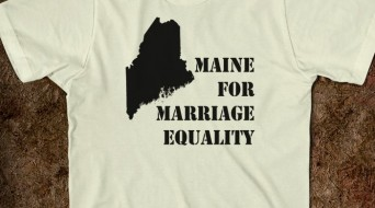 Maine Marriage equality t-shirt