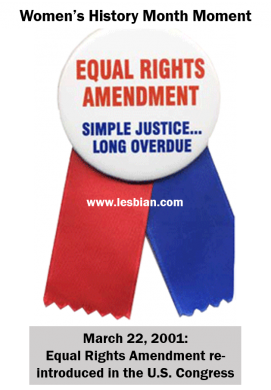 Equal Rights Amendment news