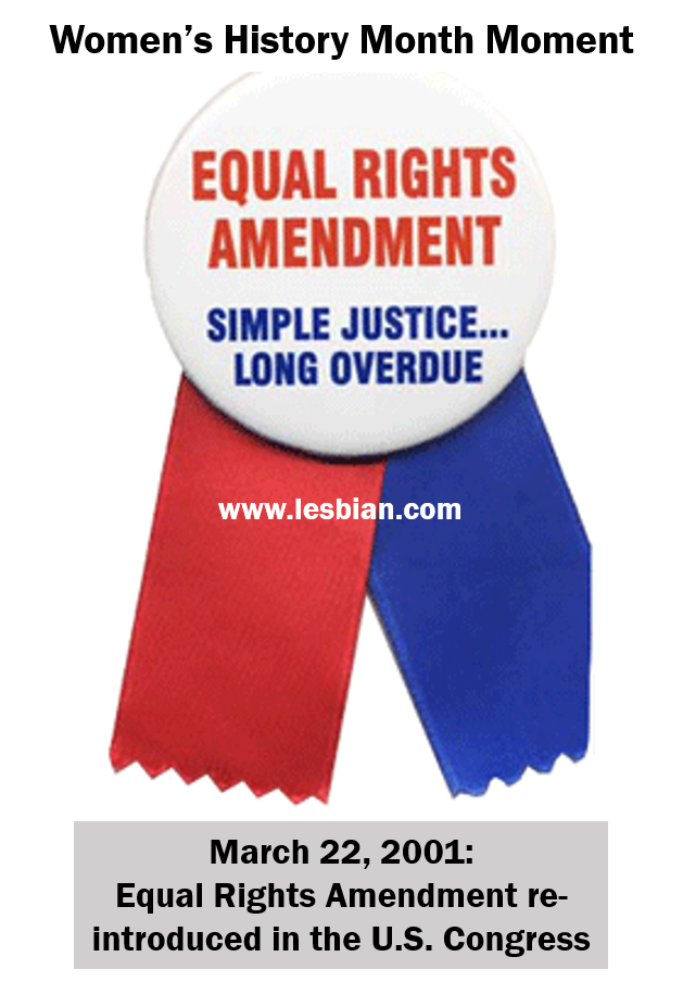 an introduction to the equal rights amendment Rights c the equal rights amendment d roe v wade and its impact e environmental reform f others demand equality g student activism h her stop era campaign hinged on the belief that the era would eliminate laws designed to protect women and led to the eventual defeat of the.