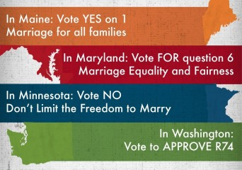 2012 marriage equality issues
