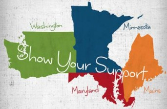 Marriage equality ad for Washington, Maryland, Minnesota and Maine