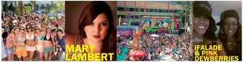 Mary Lambert - The Wet and Wild Pool Party