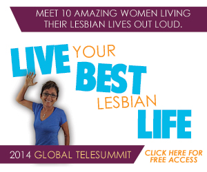 Live Your Best Lesbian Life flyer