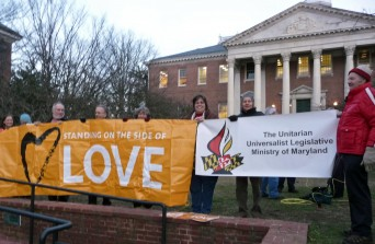 Maryland marriage equality rally