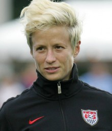 US national team soccer player Megan Rapinoe comes out