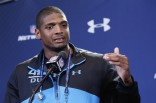Michael Sam at the NFL Combine