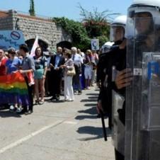 Montenegro Riot Police Pride Celebration