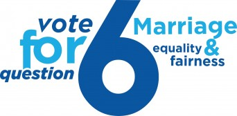 Maryland marriage equality campaign logo