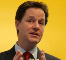 UK Deputy Prime Minister Nick Clegg vows to fight for religious gay marriage
