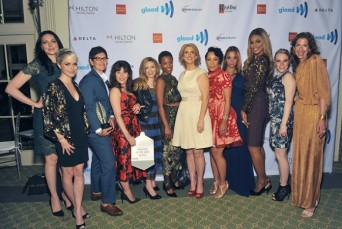 OITNB cast at NYC GLAAD Media Awards
