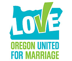 Oregon United for Marriage logo