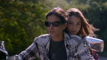 Patricia Velasquez (L) and Eloisa Maturen (R) in