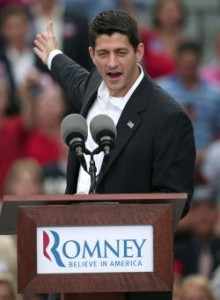 Vice Presidential candidate Paul Ryan