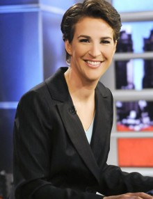 Ten facts you may not know about MSNBC host Rachel Maddow