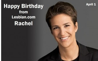 Rachel Maddow birthday