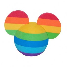 Rainbow Mickey Mouse