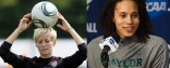 Megan Rapinoe and Brittney Griner