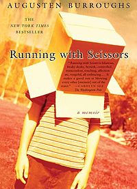 Running with scissors is one of sixteen books challenged for its gay content