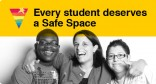 Safe Space Campaign poster