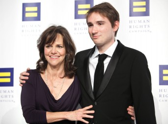 Sally Field and her son Sam Greisman