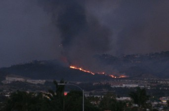 San Marcos fire