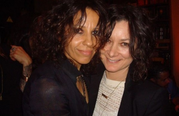 Linda Perry and Sarah Gilbert