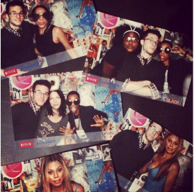 Some snaps from the party (Via Pop Up Photobooth Instagram)
