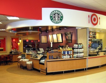 Starbucks and Target