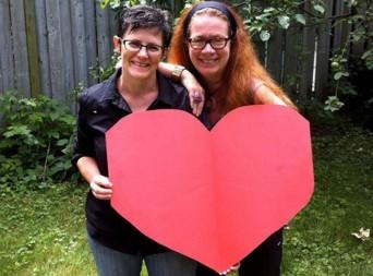 Susan Belyea and Karen Dubinsky