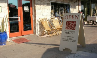 Ten Thousand Villages storefront