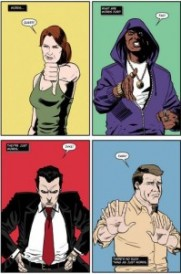"""Artwork from """"The Stonewall Riots"""" comic book"""