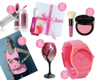 Items to purchase to support breast cancer research