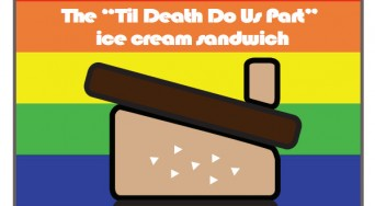 Til Death Do Us Part ice cream sandwich