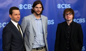 The male cast of Two and a Half Men