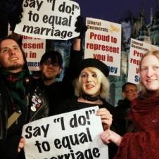 UK same-sex marriage activists