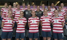 US Women's National Soccer team group photo