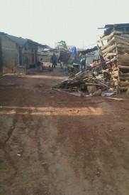 Ugandan slum