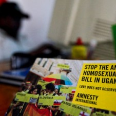 Stop Ugandan Anti-Homosexuality Bill sticker