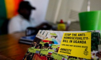 Stop Ugandan Anti-Homosexuality Bill sticker