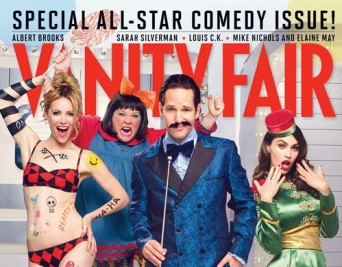 Vanity Fair comedy issue cover
