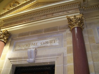 Wisconsin Supreme Court sign