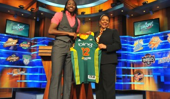 2012 WNBA Draft ceremony