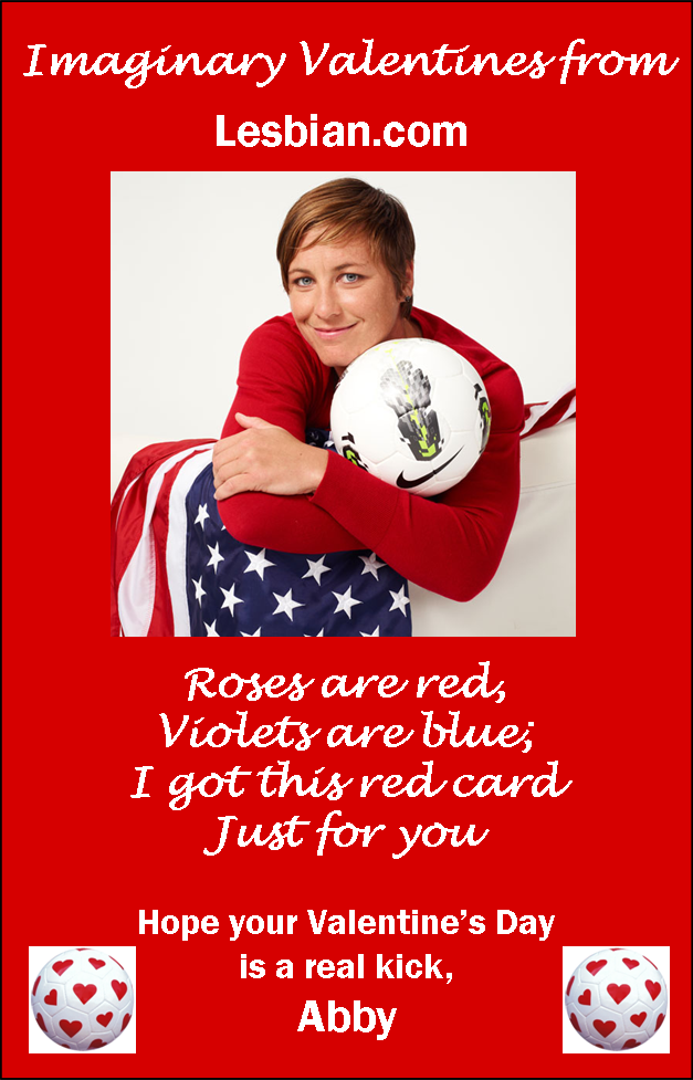 Abby Wambach Valentine