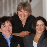 L - R: Maria Lynn, Kathy Wolfe and Shannon Wentworth