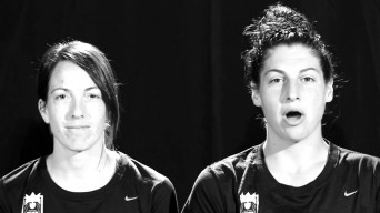 Screenshot from You Can Play video by the Seattle Reign players