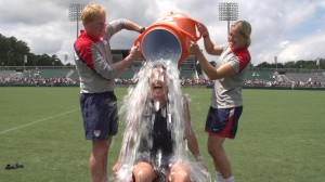 Abby Wambach ice bucket challenge
