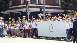 Apple celebrates San Francisco Pride