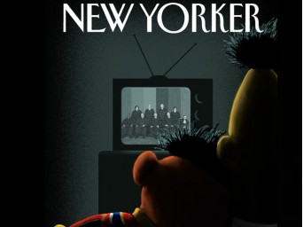 Bert and Ernie watch Supreme Court